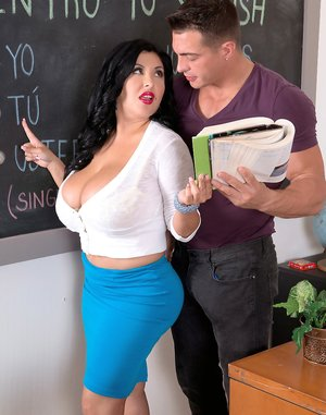 Latina Teacher Photos
