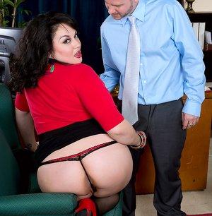Hot Latino Secretary Photos